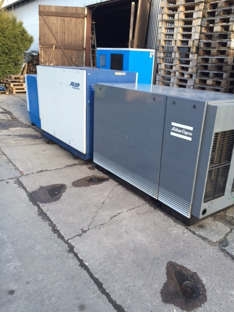 German ATLAS COPCO, ALUP, KAESER Screw Air Compressors