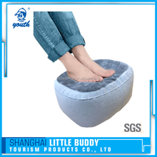 inflatable knee wedge portable folding leg foot rest travel pillow