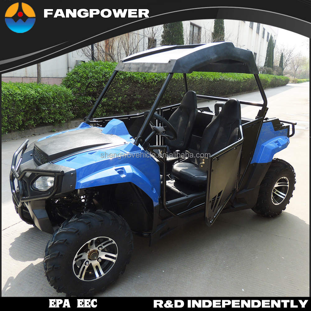 China EPA EEC fangpower utv model 250cc side by side utv for sale