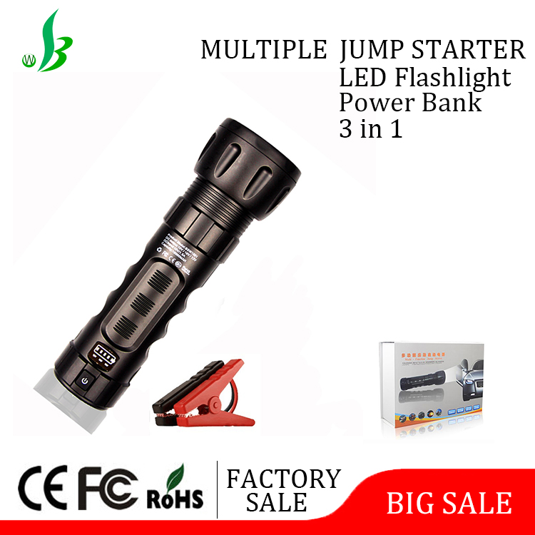 10000mah multifunctional auto emergency 12V portable battery to jump start