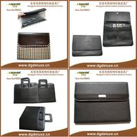 hot sale leather expandable folder with binder