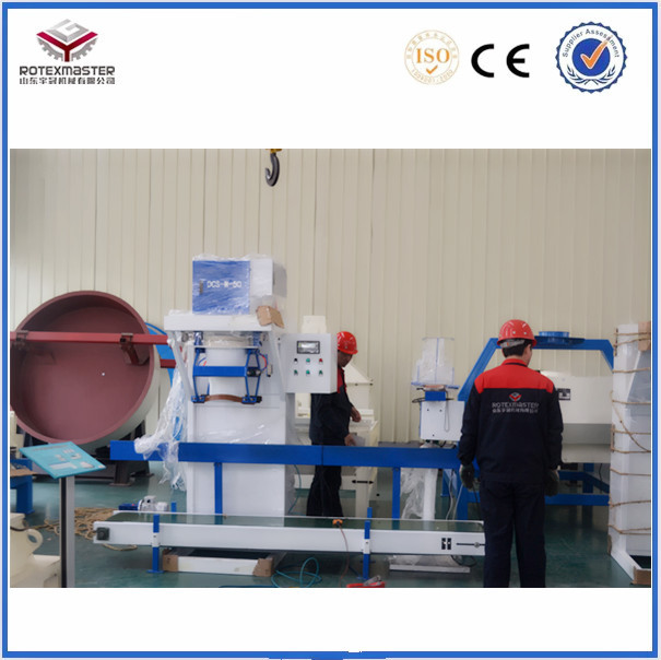 [ROTEX MASTER] Semiautomatic Wood Pellet Packing Machine For Grain / Bean / Sugar / Seed