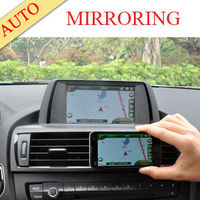 800x480 car gps navigation with wireless rearview camera