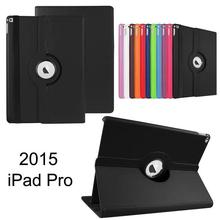360 degree Rotation Case for iPad Pro 2015,for iPad Pro Leather Stand Case Cover