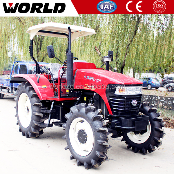 Changchai engine 70HP mini tractor kubota with rotary tiller