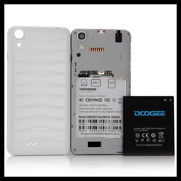 Hot selling waterproof 8gb rom smartphone doogee dg100 smartphone 3g waterproof mobile phone cellphone