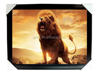 Agent wanted the lion king 3d lenticular art picture framed for decoration