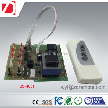 IR transmitter and receiver for home heater temperature controlling
