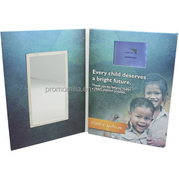 Factory direct custom video greeting card for branding