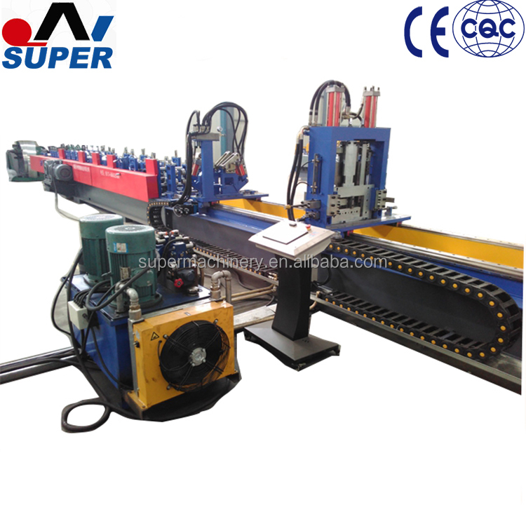 Quick Change C Z Shape Purlin Roll Forming Machine