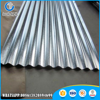 galvanized curved corrugated steel sheet