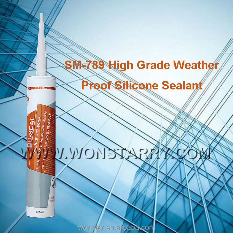 rtv fast dry weatherproof neutral silicone sealant