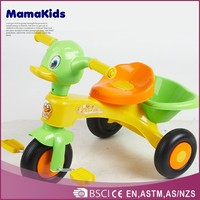 The most popular kis trikes duck shape hot-selling best baby tricycle price