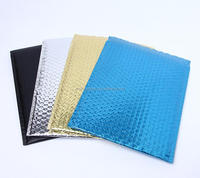 Customized Gold/Black/Silver Bubble Mailer, Metallic Colored Padded Bubble Envelope