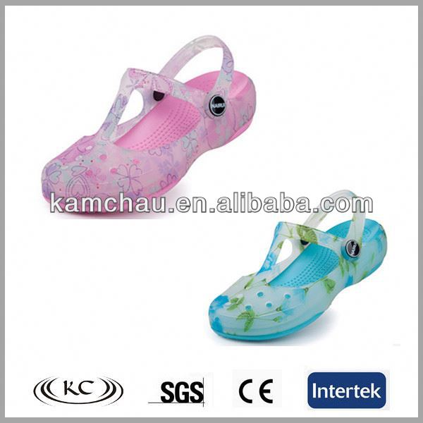 beautiful decoration garden plastic china clog