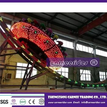 China park amusement rides suppliers high-quality 22 seats mega disk' o canival equipment