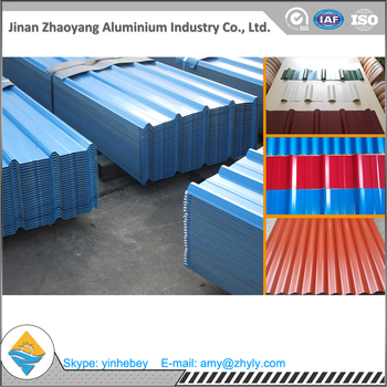 aluminum roof panel with alloy 1060 thick 0.3mm-1.5mm