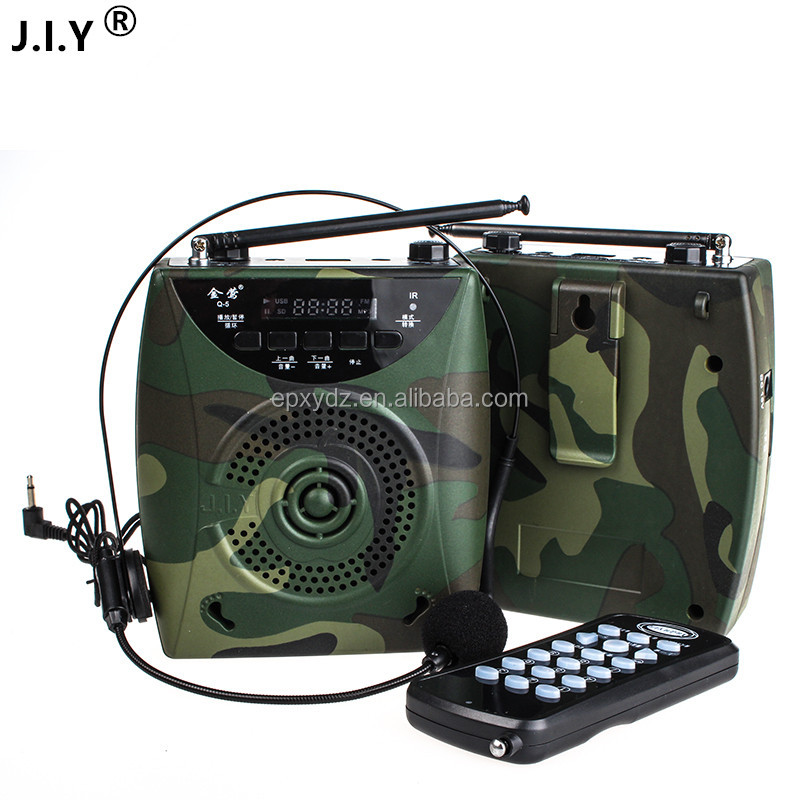 hot sale degital waistband amplifier electronic bird caller for hunting