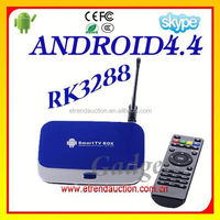 King of Performance Android TV Box RK3288 Quad Core 1.8GHz Android Smart TV Box RK3288 Factory offer 2 Years Warranty