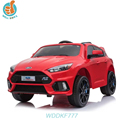 WDDKF777 Licensed Brand Ford RC Electric Kids Ride On Car with Music and Car Switch
