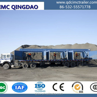 65 Ton Coal Loading Transporting Trailer