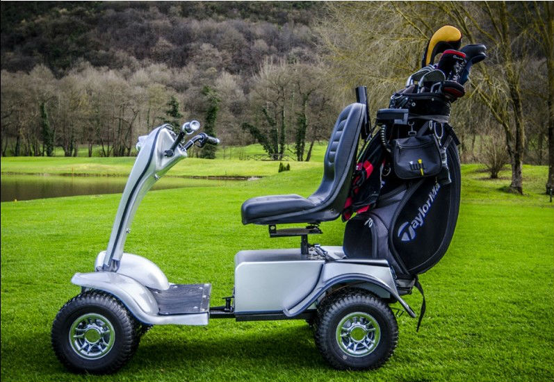 Best quality hot sale single seat electric golf cart