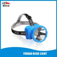LED rechargeable Lithium battery waterproof head light with power display 5W LED HBT-8806