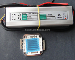 50W UV 380nm high power LED chip with LED driver supply