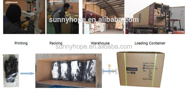 sunny hope good Latex coated gloves working gloves industial working gloves