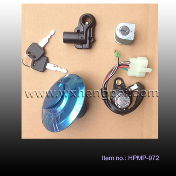 motorcycle ignition lock set and fuel tank , ignition lock kit for HN125-8 , motorcycle parts