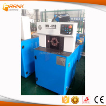 Ultra-thin hose fitting crimping machine