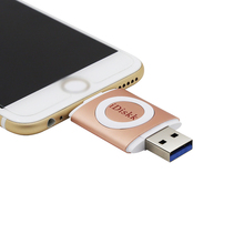 16gb~128gb Mfi Certified USB Flash Drive for iPhone/ iPad / iPod Apple Devices USB Disk U Stick Pendrive OTG