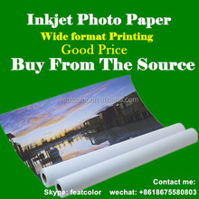 Professional inkjet Photo Paper Roll