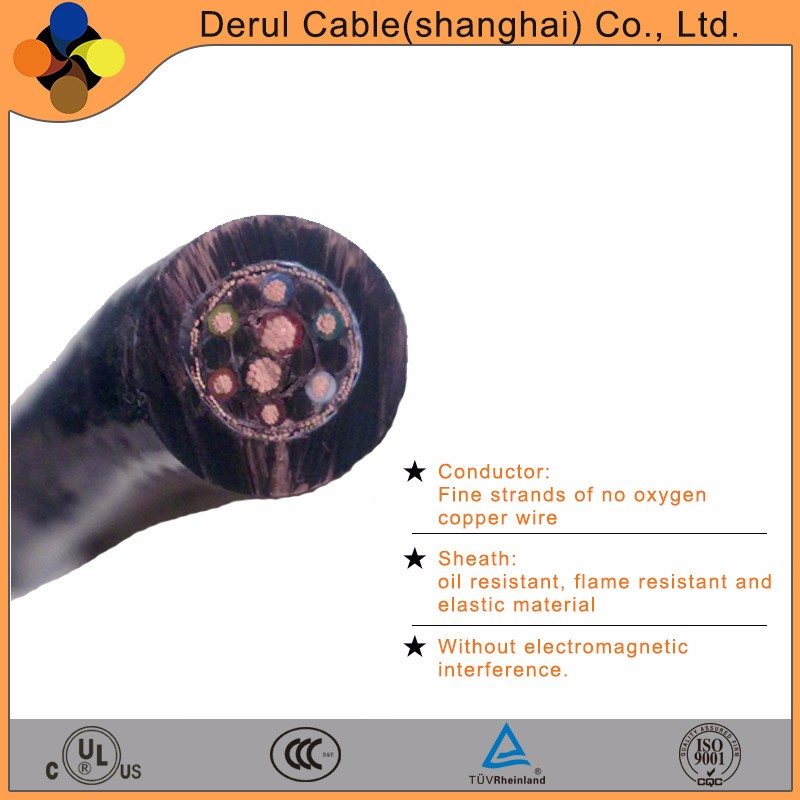 waterproof multicore power electric cable for submarine condition