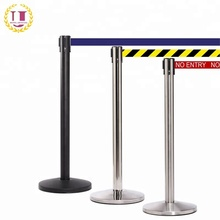 Used Temporary Queue Guidance Stanchion Post for Sale