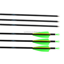 Huntingdoor Carbon Arrow Shaft 31 inch OD 7mm Spine 900 For Outdoor Archery bow hunting Supply
