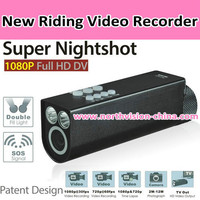 1080P super nightvision loop recording bicycle camera