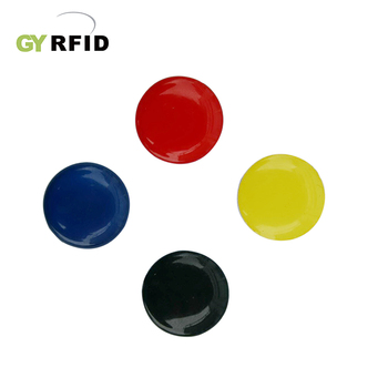 ISO11785 125KHz PVC Reusable Clothing UHF Rfid Tag