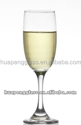 once-formed 6oz champagne flute glass