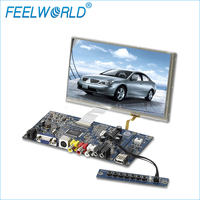 8 inch flexible TFT touch screen advertising digital signage video player LCD display