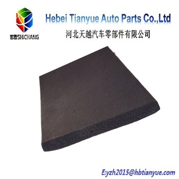 soft foam rubber sheet for damper and soundproof