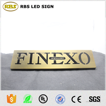 Cheapest Price Numbers Metal Word banner signs