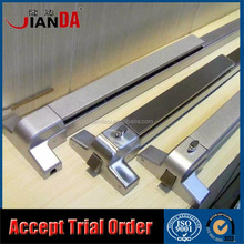 Exterior Double Leaf Door Lock Device Panic Bar