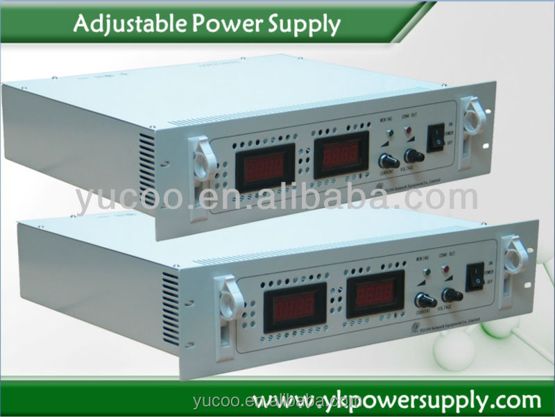 AC DC switching mode 24V 2U rack mount power supply efficient and energy saving