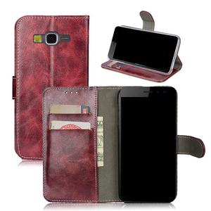 Leather Case For Samsung Galaxy Grand Prime G530 G530H G530W G5308W G531 G531H SM-G531F Wallet Retro Flip Protective Bags