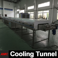 Customized Small Scale walnut crack machine Cooling Tunnel Machine