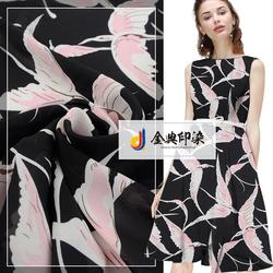 wholesale fashion printed polyester twill different types of chiffon fabric prints