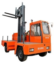 Sideloading Forklifts in 3, 5 and 6 Ton Capacities