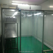 Portable air curtain shower cabin