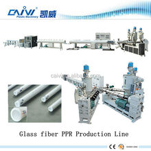 blow molding machine ppr-glass fiber-ppr plastic pipe extruder machine / ppr pipe extrusion line